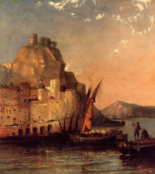 The Gulf Of Salerno Amalfi Coast